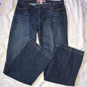 Gap Jeans long and lean size 10